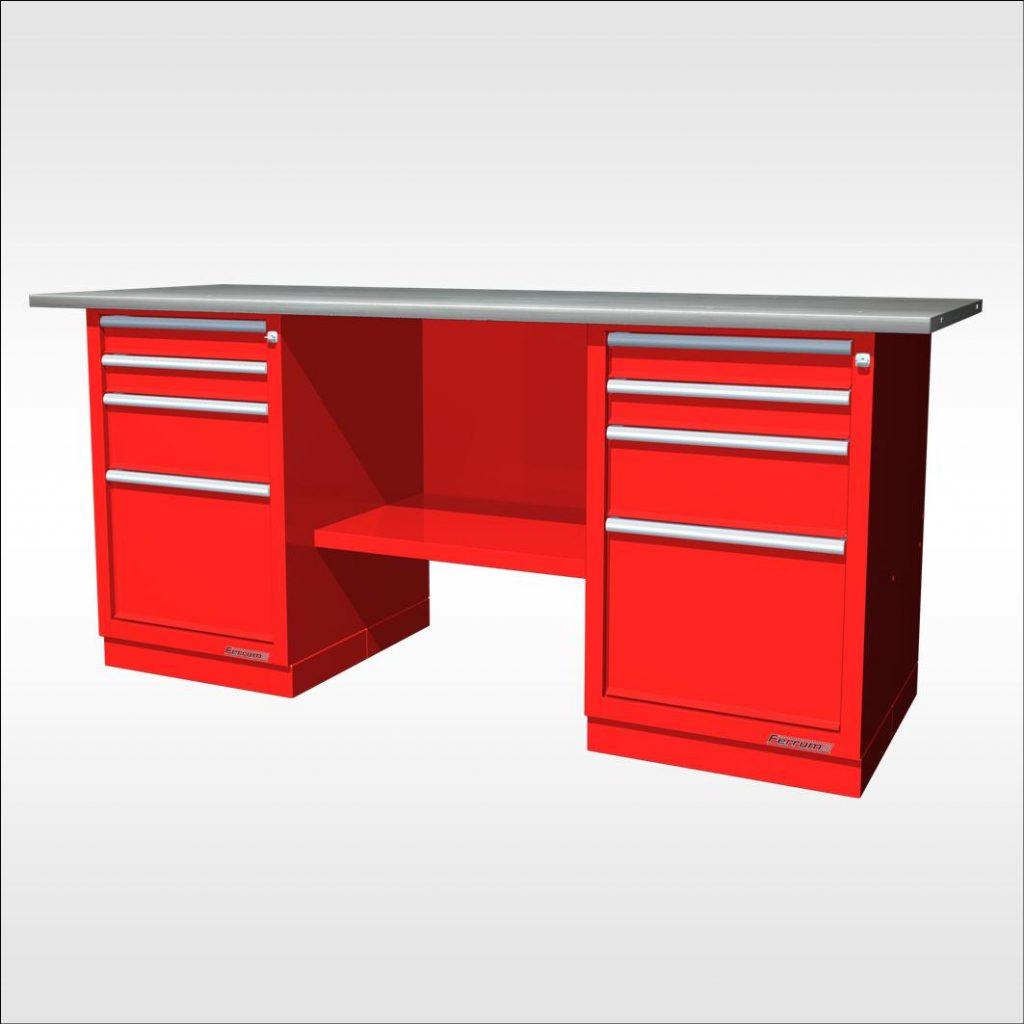 Tabli tiroirs lg 190 2 caissons neuf equip 39 proequip 39 pro - Destockage mobilier bureau ...