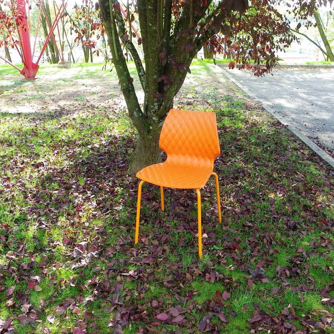 Chaise design italien orange equip 39 proequip 39 pro - Chaises design pas chere par quatre ...