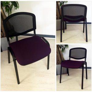 chaises visiteurs pas cher