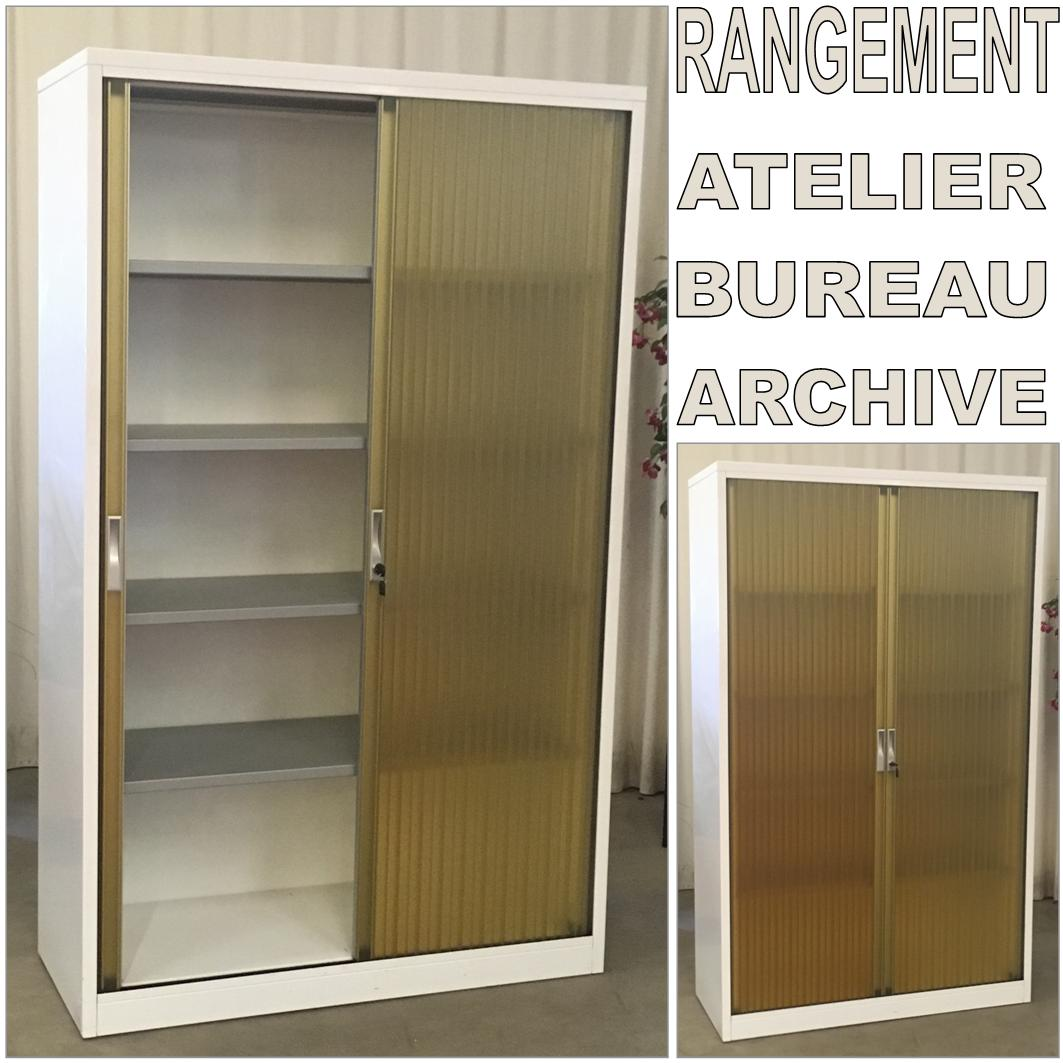 armoire a rideau occasion