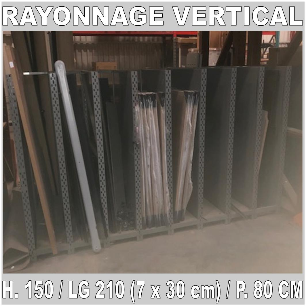 rayonnage vertical occasion