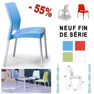 chaise polypropylene pas cher
