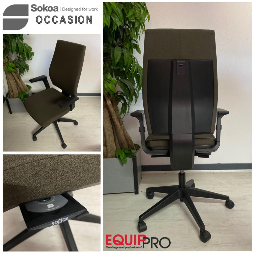 Chaise de bureau ergonomique occasion
