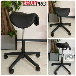 chaise assis-debout selle de cheval