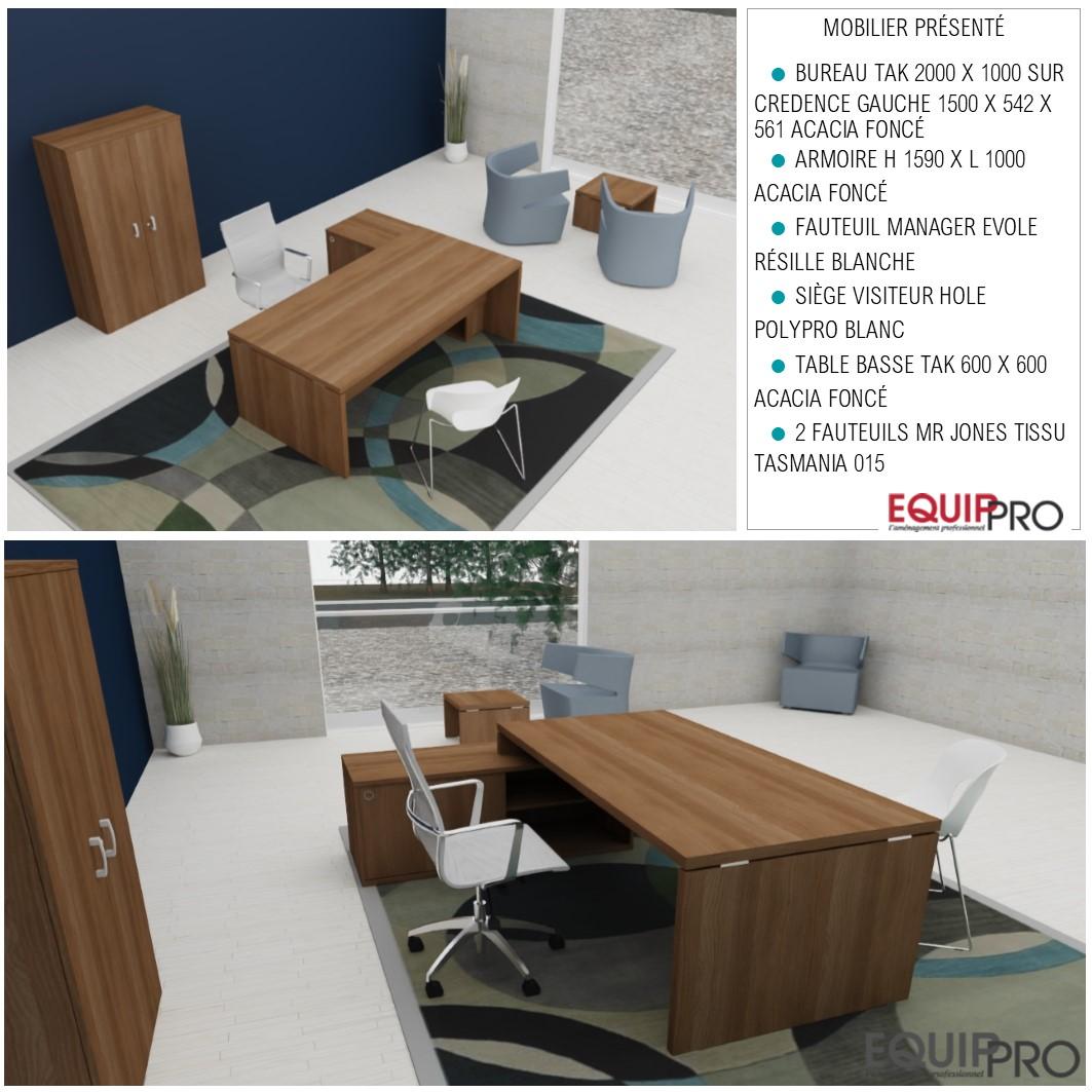 bureau direction design 3D