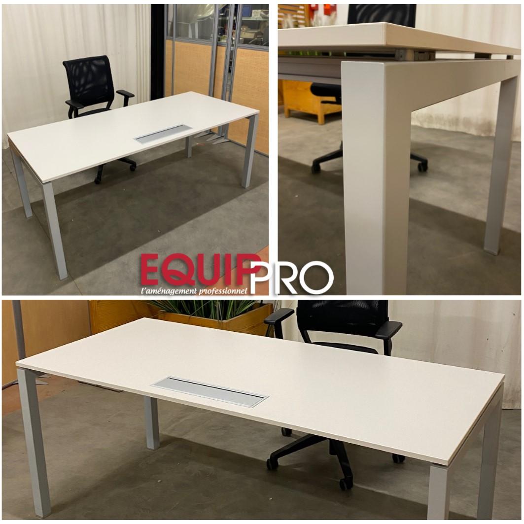 bureau blanc design pas cher